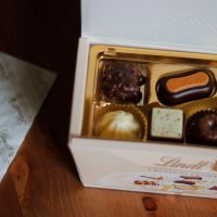Lindt Creation Dessert Chocolates*, Fats and Bird Caramel Eclairs