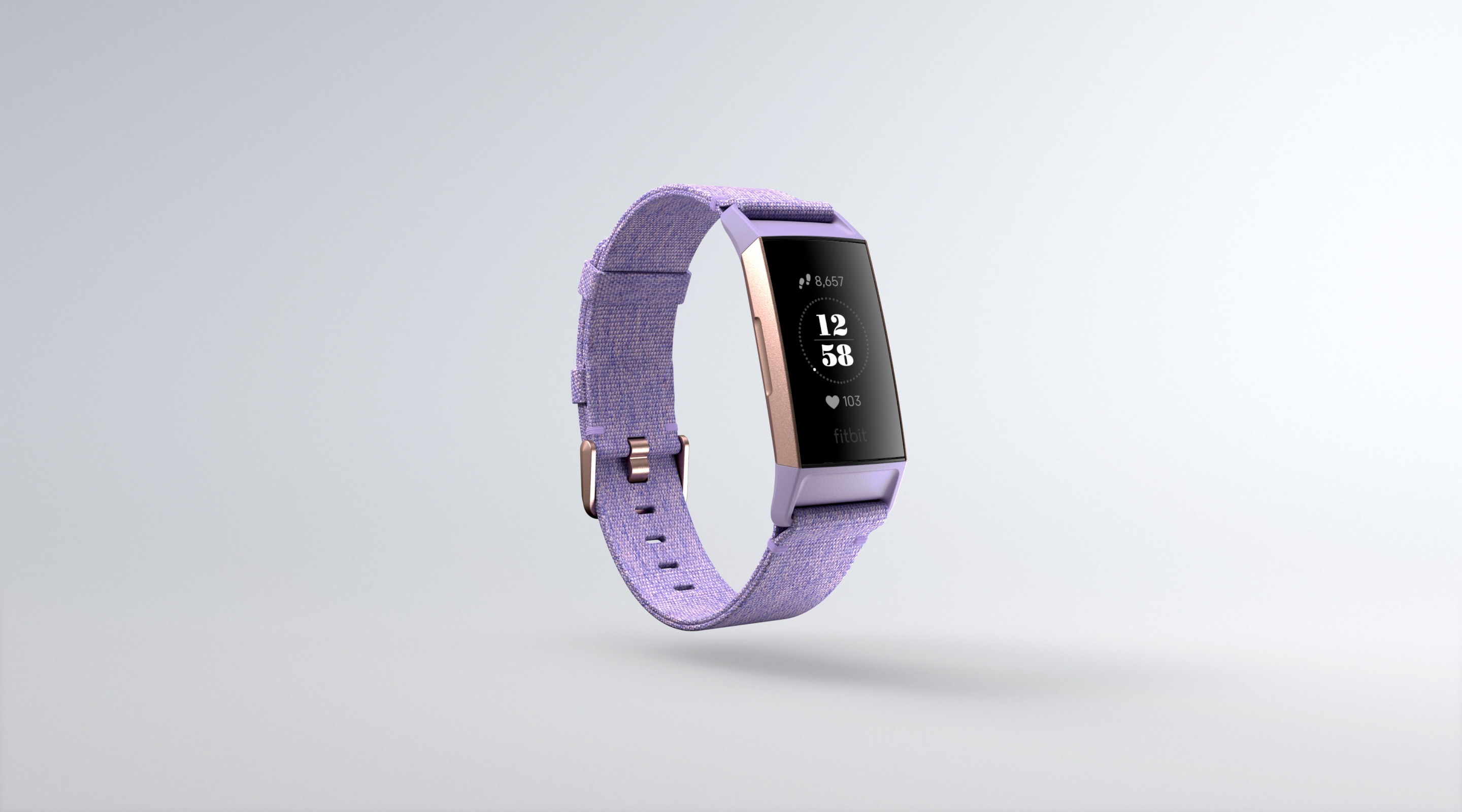 fitbit charge 3 woven lavender special edition review benefits