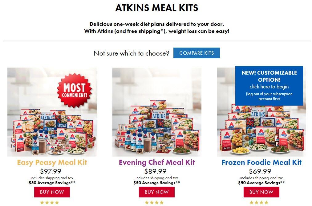 atkins diet discount voucher