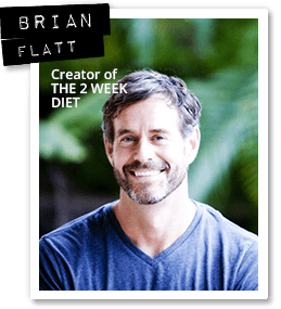 brian flatt author of 2 week diet