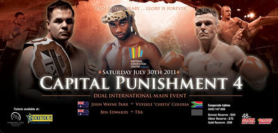 John Wayne Parr Vs. Vuysilie Colossa Announced for Capital Punishment 4