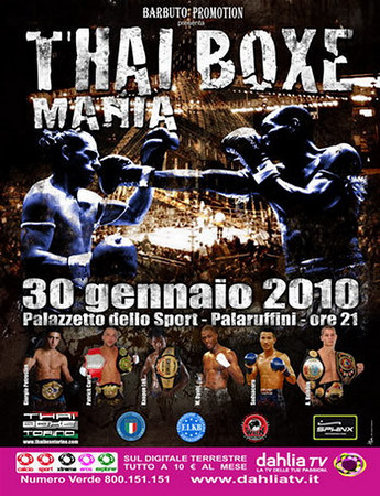 Thai Boxe Mania 2011