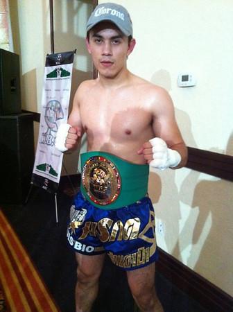 Luis Bio Wins WBC Muay Thai Mexico Championship