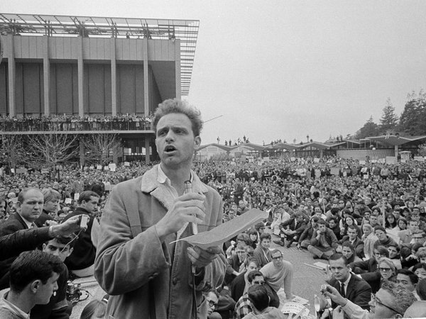 MARIO SAVIO E IL FREE SPEECH MOVEMENT