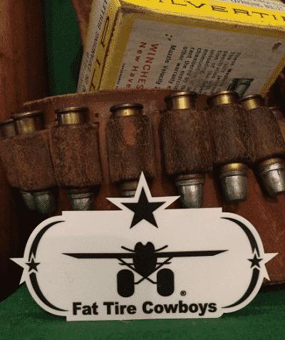 Fat Tire Cowboys Star Sticker