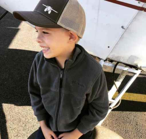 Trucker cap boy