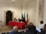 Conferenza stampa buche a Cisterna