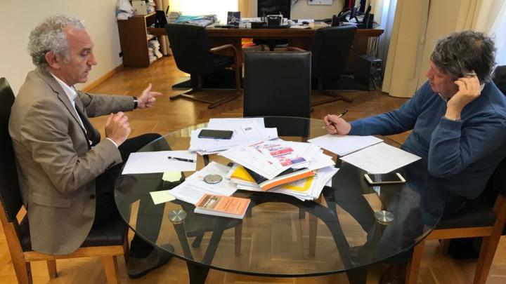 """Damiano Coletta: """"sono un sindaco progressista e farò un palazzetto"""""""