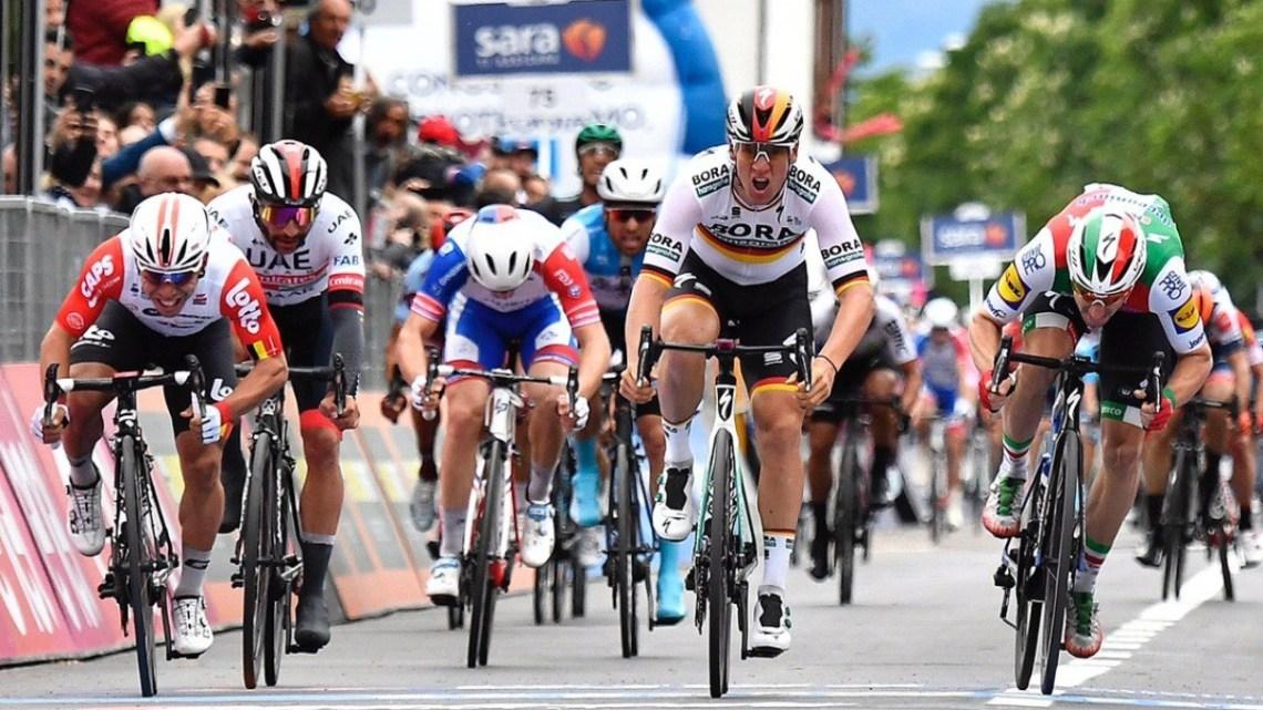 Giro d'Italia a Latina, tappa al Francioni per la Carovana Rosa