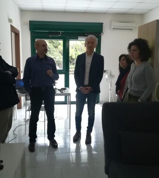 casa domotica sindaco Coletta