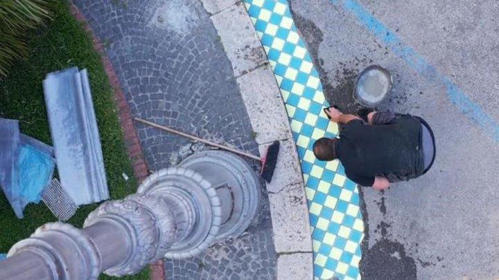 Ememem e l'arte della cazzuola: maioliche colorate Terracina