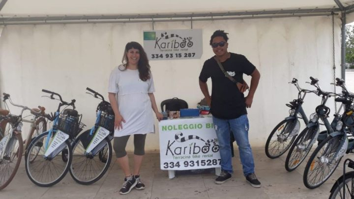 Kariboo Terracina bike rental: vivere la città in movimento