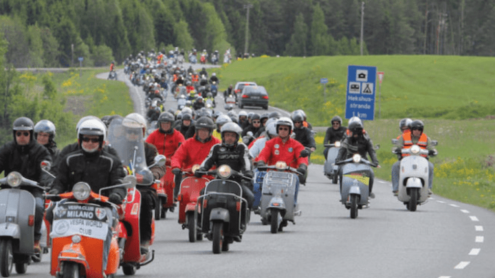 Da Fondi fino al Vespa World Days 2019 in Ungheria