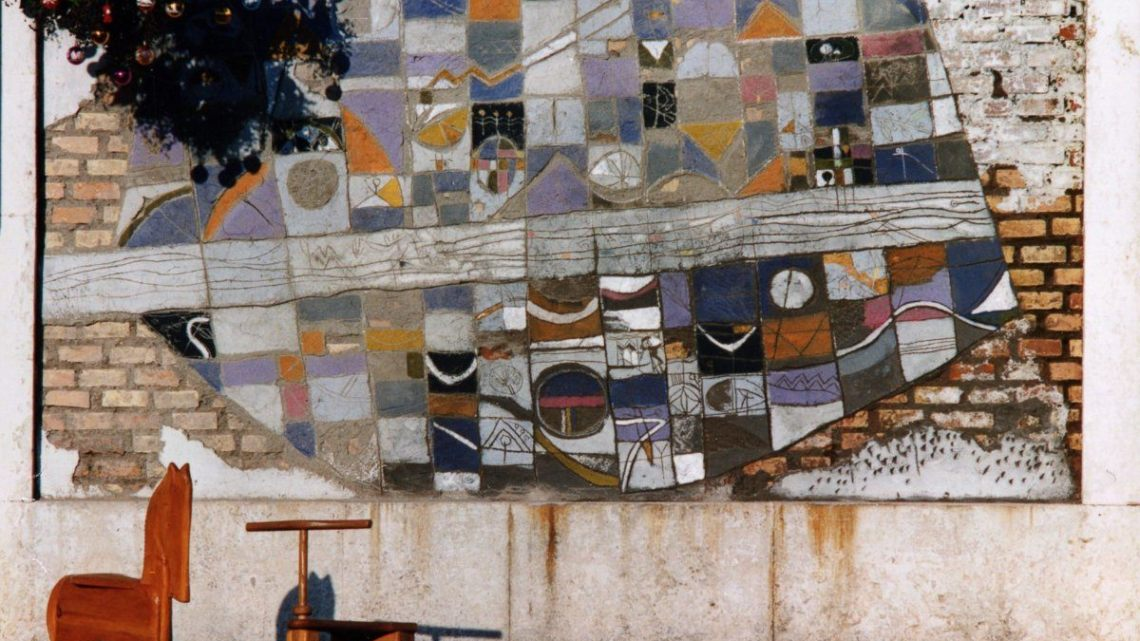 Il Quadrifoglio dona 5 mila euro per restaurare il murale di Sergio Ban