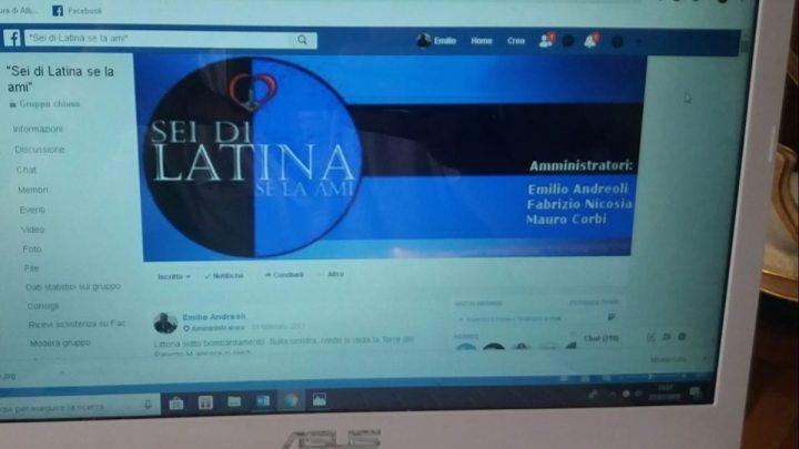 """Il gruppo Facebook """"sei di Latina se la ami"""" compie cinque anni"""
