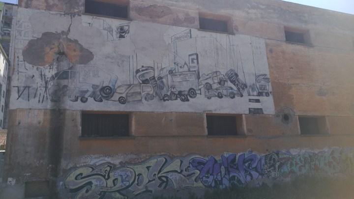 I murales dell'ex agrario, la bellezza da salvare della Latina nascosta