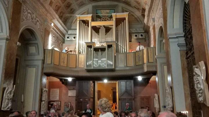 Rocca Massima, sacro e profano della Rassegna Organistica