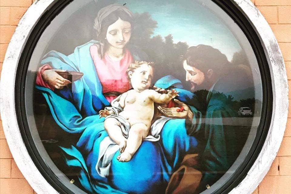 Cisterna, la Sacra Famiglia che cambia la 167