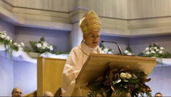 """2021/ Il vescovo Crociata e il """"dono di una nuova speranza di ricominciare"""""""