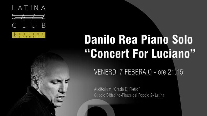 Danilo Rea al Latina Jazz Club , il concerto è già sold-out