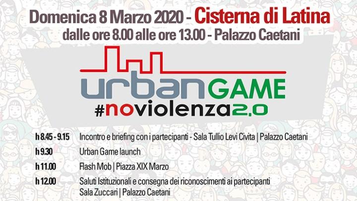 Cisterna, 8 marzo, un gioco contro la violenza di genere