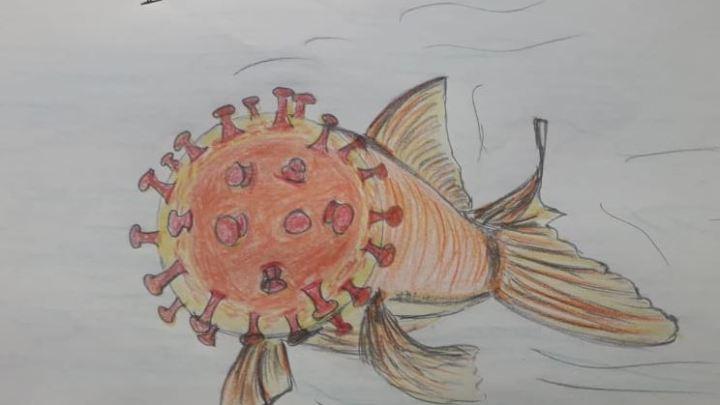Covid 19/ Il pesce di aprile diventa mostro d'aprile (la vignetta di De Amicis)