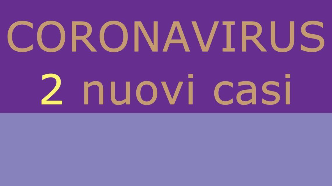 Covid 19 / Ancora due contagi