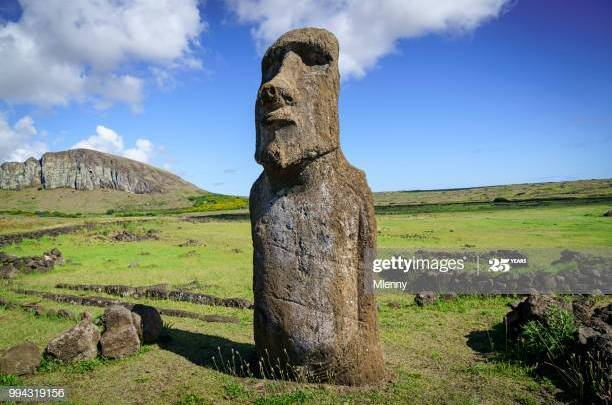 La statua di San Lidano a Sezze e la lezione dei moai dell'isola di Pasqua