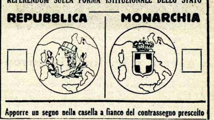 """Il cannocchiale di Uscimenti e il referendum setino tra """"monarchia e repubblica"""""""