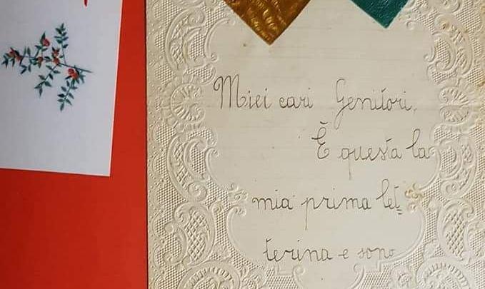 Le letterine di Natale di mia madre, i cassetti di Daniela Carfagna