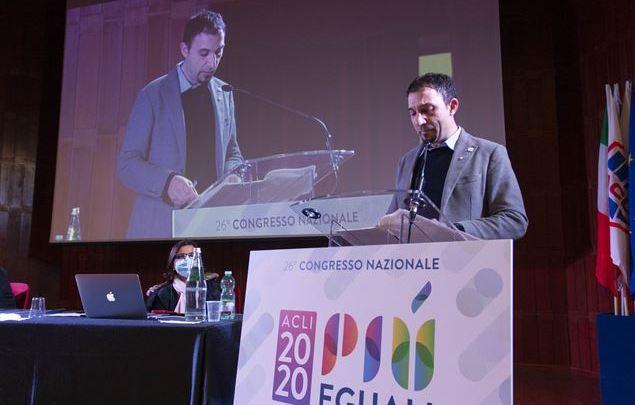 """Maurizio Scarsella: """"ci felicitiamo per l'elezione a Presidente nazionale ACLI di Emiliano Manfredonia"""""""