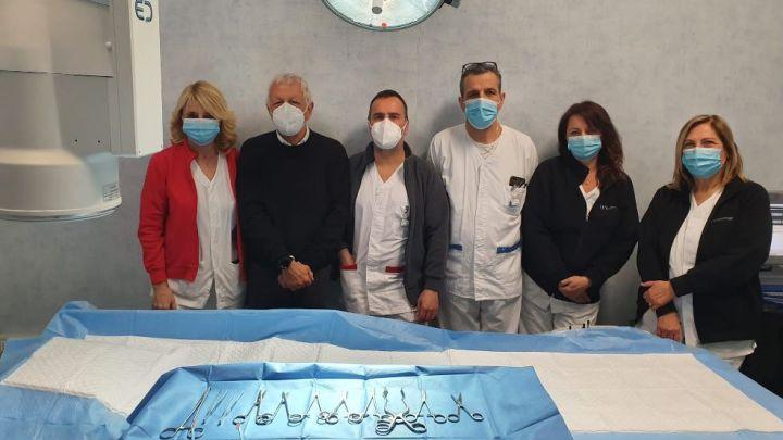L'Associazione Matteo Fabrizio dona ferri chirurgici all'Ospedale Goretti di Latina