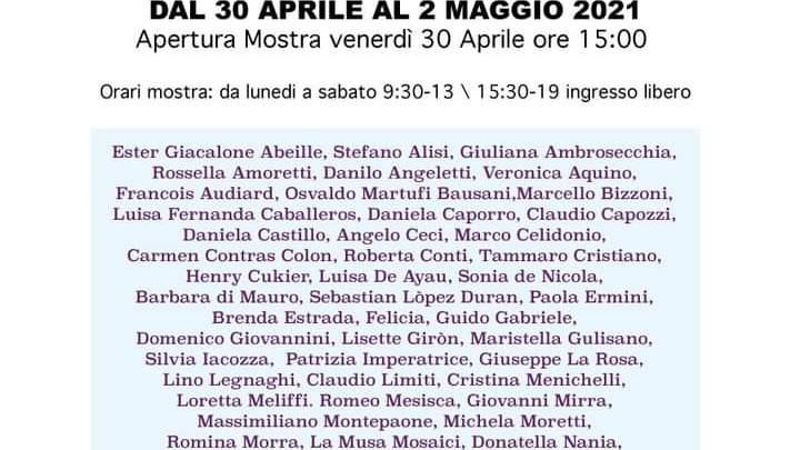 """L'Art Saloon di Ariccia inaugura la Mostra Internazionale """"Distorsioni"""""""