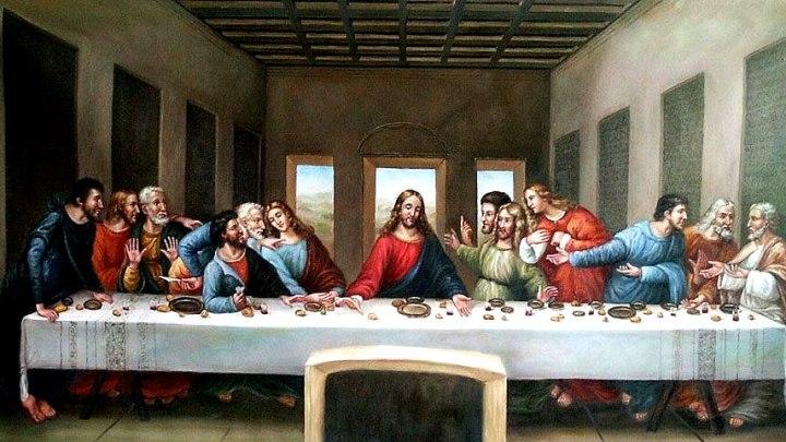 L'ultima cena: l'educazione del giovedì santo