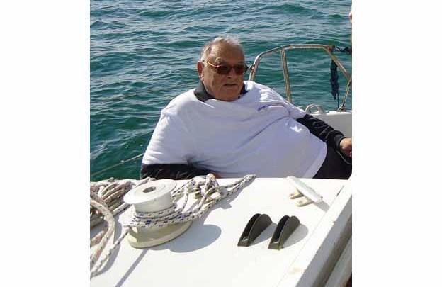 Il saluto a Sergio Malossi, questa mattina ha issato le vele verso il cielo