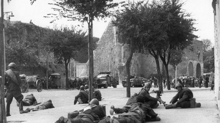 8 settembre, il granatiere di Porta San Paolo. Così inizia la Resistenza