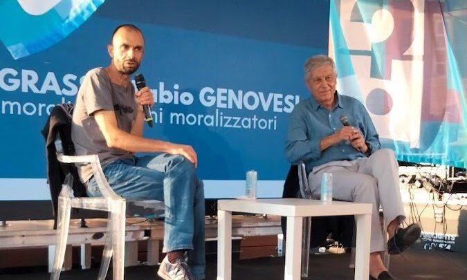 Antonio Pennacchi all'improvviso. Emozioni di settembre al Festival della Comunicazione di Camogli