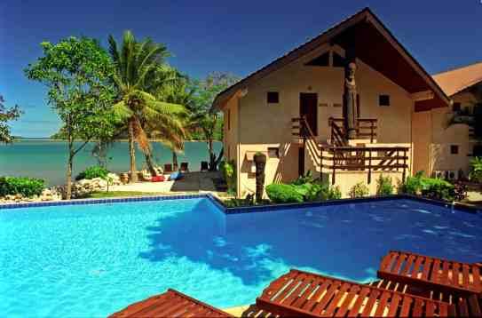 Fatumaru property - pool view