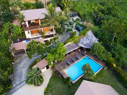 Fatumaru property - view from the sky