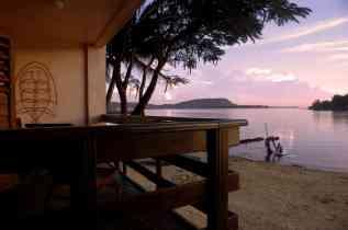 Fatumaru seafront studio - sunset view