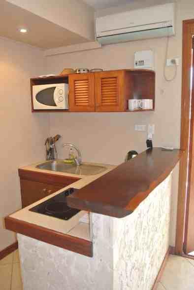 Fatumaru seaview apartment - kitchenette
