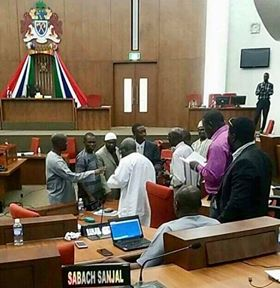Halifa Sallah Clashes With Speaker Of The National Assembly