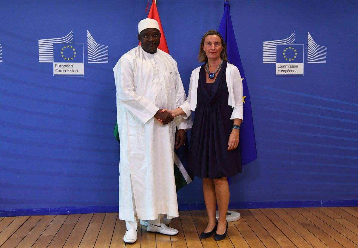 EU mobilises international support for The Gambia