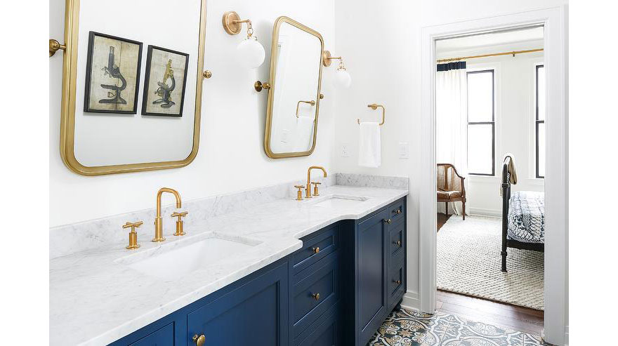 modern brushed gold finishes for your