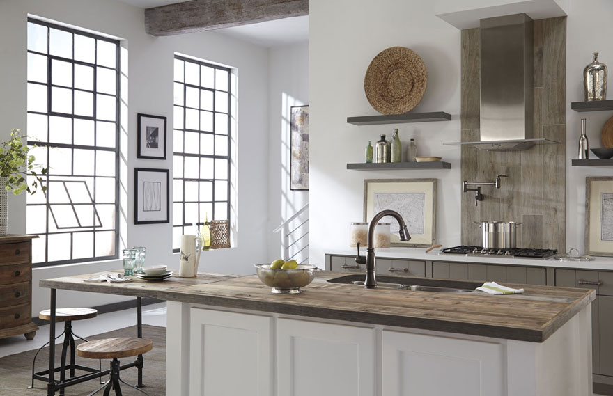 bronze finish fixtures for your kitchen