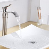 Aquafaucet Vessel Sink Faucets Brushed Nickel