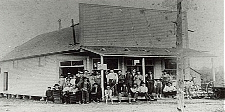 L. T. Lasley Store, 1900 (Courtesy of the FCHS and UCA Archives)