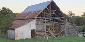 Barn at Springhill, Faulkner County, Arkansas