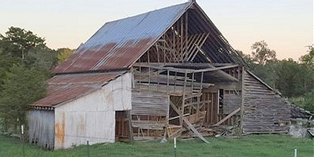 Barn at Springhill, Faulkner County, Arkansas