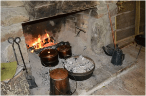 Fireplace Cooking at the Cadron Blockhouse